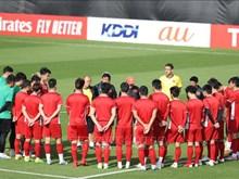 Asian Cup 2019:越南球队为迎战伊朗球队做好准备(组图)