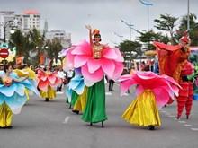 热闹非凡的2019年街头岑山狂欢节(组图)