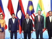 越南政府总理阮春福出席第33届东盟峰会开幕式(组图)