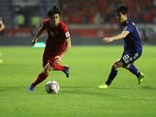 2019年亚洲杯1/4决赛:日本队1-0险胜越南队(组图)