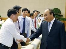 越南政府总理阮春福会见记者协会代表庆祝越南革命新闻日(组图)