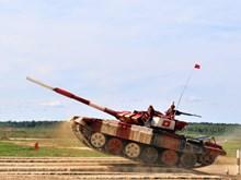 越南坦克队在2019年国际军事比赛中表现出色(组图)
