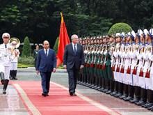 越南政府总理阮春福为澳大利亚总理斯科特·莫里森举行欢迎仪式(组图)