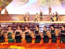 """题为""""织锦文化—精髓汇聚""""的首届越南织锦文化节正式开幕(组图)"""