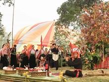 山萝省傣族的感恩节(组图)