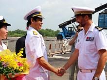 法国海军防空护卫舰对胡志明市进行友好访问(组图)