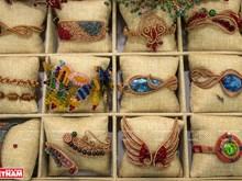 越南铜丝艺术品(组图)