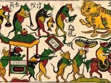 东胡民间画申报列入《急需保护的非物质文化遗产名录》的档案正在完善中(组图)