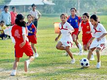 社区足球培训中心为越南足球培养人才