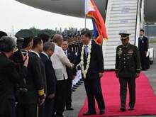中国国家主席习近平对菲律宾进行访问