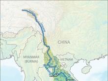 中老缅泰四国举行第77次湄公河联合巡逻执法行动