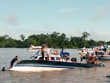 印尼发生渡船倾覆事故造成数十人伤亡