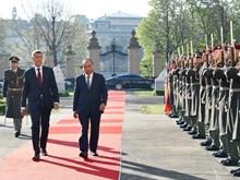 越南政府总理阮春福对捷克进行正式访问(组图)