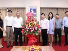越南革命新闻日94周年:各机构和单位向越南通讯社领导表示祝贺(组图)