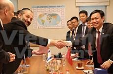 越南学习借鉴以色列高新技术农业发展经验