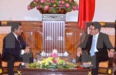 范平明副总理会见孟加拉国新任驻越大使
