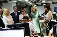 美国副总统夫人吉尔•拜登访问胡志明市