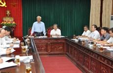 越南国会副主席汪周刘赴兴安省调研