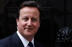 英国首相戴维·卡梅伦:越英两国经贸合作空间广阔