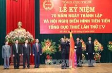 越南国会主席阮生雄出席越南税务总局成立70周年纪念典礼