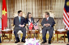 阮晋勇总理会见马来西亚下议院议长