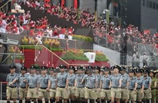 越南政府总理阮晋勇出席新加坡独立50周年庆典
