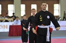 """第一次""""升龙杯""""国际越南传统武术节在河内举行"""