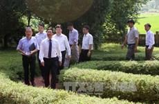 """越南政府副总理范平明走访""""抗战首都"""""""