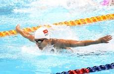 世界游泳锦标赛200米混合泳决赛:越南游泳名将阮氏映圆获第四名