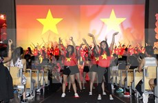 旅居欧洲越南青年大学生夏令营活动圆满成功