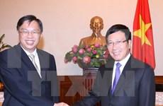 越南和新加坡外交部举行第九次政治磋商