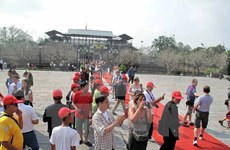 赴承天顺化省观光旅游的国际游客量同比增长2.44%