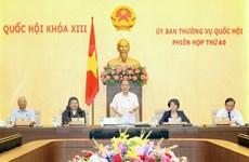 越南第十三届国会常务委员会第四十次会议发表公报