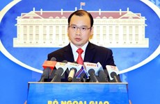 越南对印尼击沉非法捕鱼的外国渔船表示严重关切