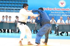 2015年全国青少年柔道锦标赛:胡志明市代表团居首位