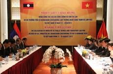 越南交通运输部与柬老两国交通工程与运输部加强合作