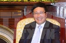 范平明副总理兼外长:外交部门在积极主动地融入国际社会应走在前面