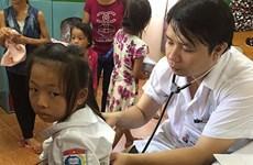 为广宁省洪涝灾区1400多名儿童免费看病