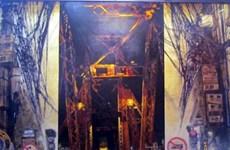 第20届河内第一区绘画展开幕