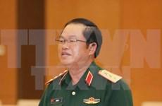 越南人民军高级军事代表团对老挝进行正式访问