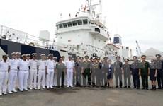 印度海岸警卫队巡逻舰访问胡志明市
