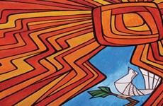 越马女艺术家首次视觉艺术画展在河内开展