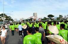 2015年岘港国际马拉松赛吸引国内外500名运动员参赛