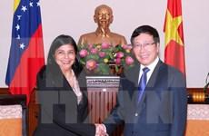范平明副总理兼外长会见委内瑞拉外长罗德里格斯