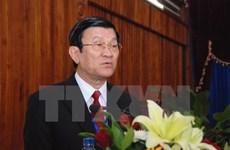 越南国家主席张晋创赴华出席世界反法西斯战争胜利70周年纪念活动