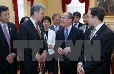 越南国会主席阮生雄探访美国马萨诸塞州旧市政厅和最高法院