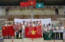 第八届毽球世锦赛:越南队稳居团体第一