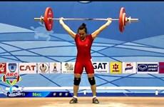 2015年亚洲举重锦标赛:越南运动员夺得两枚金牌