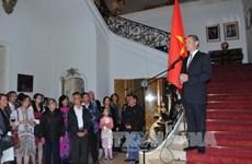 越南驻外使领馆举行九·二国庆70周年庆祝活动