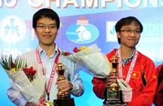 越南两名棋手将参加2015国际象棋世界杯男子个人赛